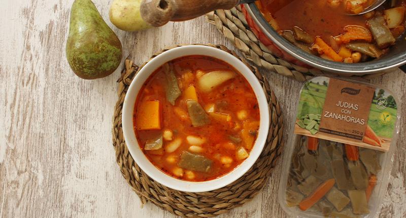 Olla-gitana-con-judias-con-zanahorias-surinver